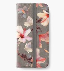 Coral Hibiscus iPhone Wallet/Case/Skin