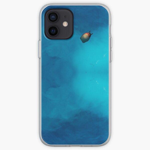 Signe de Totoro dans l'océan Coque souple iPhone