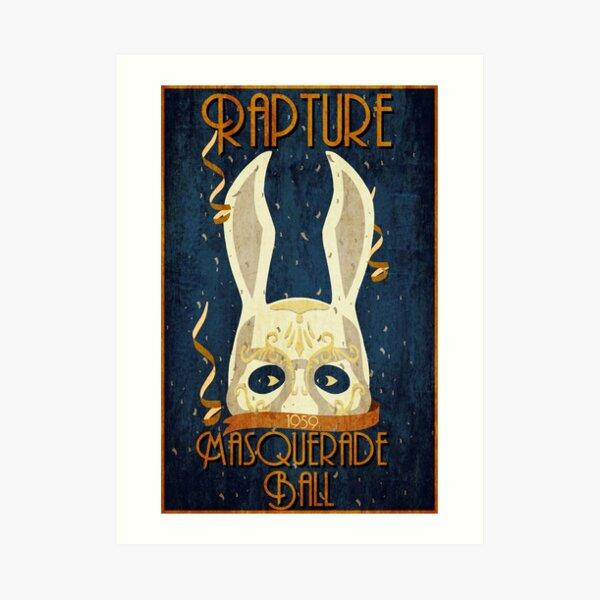 Rapture Masquerade Ball 1959 Art Print