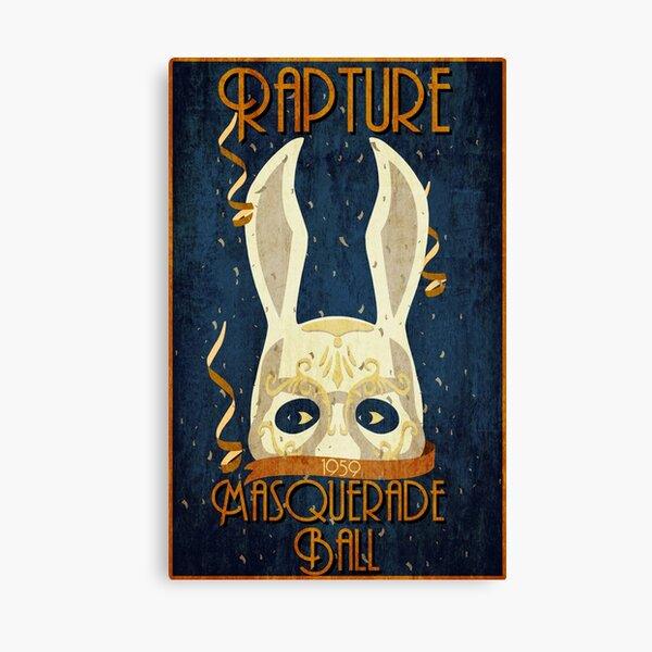 Rapture Masquerade Ball 1959 Canvas Print
