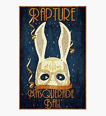 Rapture Masquerade Ball 1959 Photographic Print