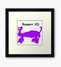 Rawarr XD Framed Print