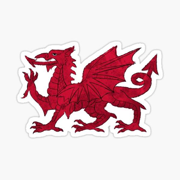 Welsh Flag Sticker