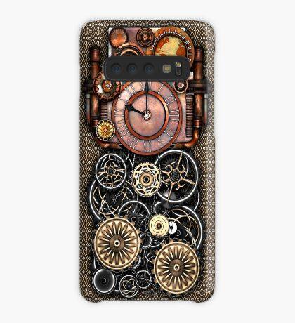 Infernal Steampunk Timepiece #2 Vintage Steampunk phone cases Case/Skin for Samsung Galaxy
