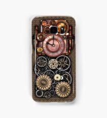 Infernal Steampunk Timepiece #2 Vintage Steampunk phone cases Samsung Galaxy Case/Skin