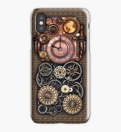Infernal Steampunk Timepiece #2 Vintage Steampunk phone cases iPhone Case