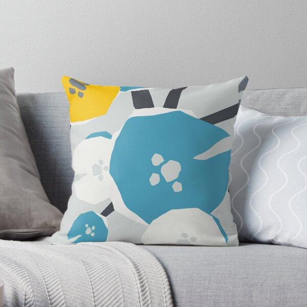 Poppy breeze Throw Pillow