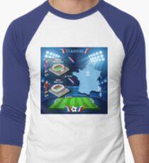 Paris Nice Stadium Infographics T-Shirt