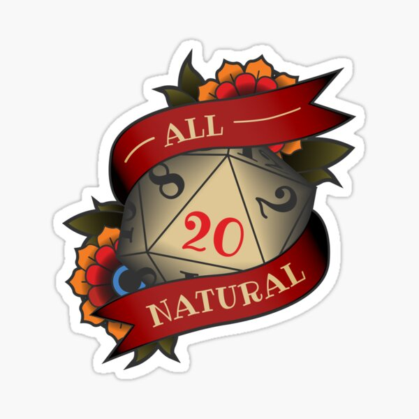 All Natural Sticker