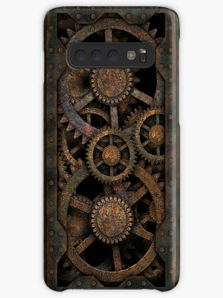 Infernal Steampunk Gears Vintage Steampunk phone cases by Steve Crompton