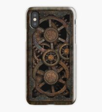 Infernal Steampunk Gears Vintage Steampunk phone cases iPhone Case
