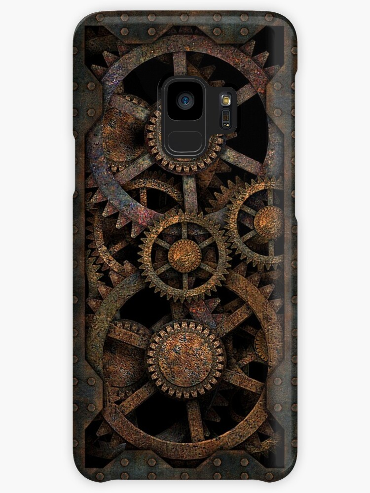Infernal Steampunk Gears Vintage Steampunk phone cases by Steve Crompton