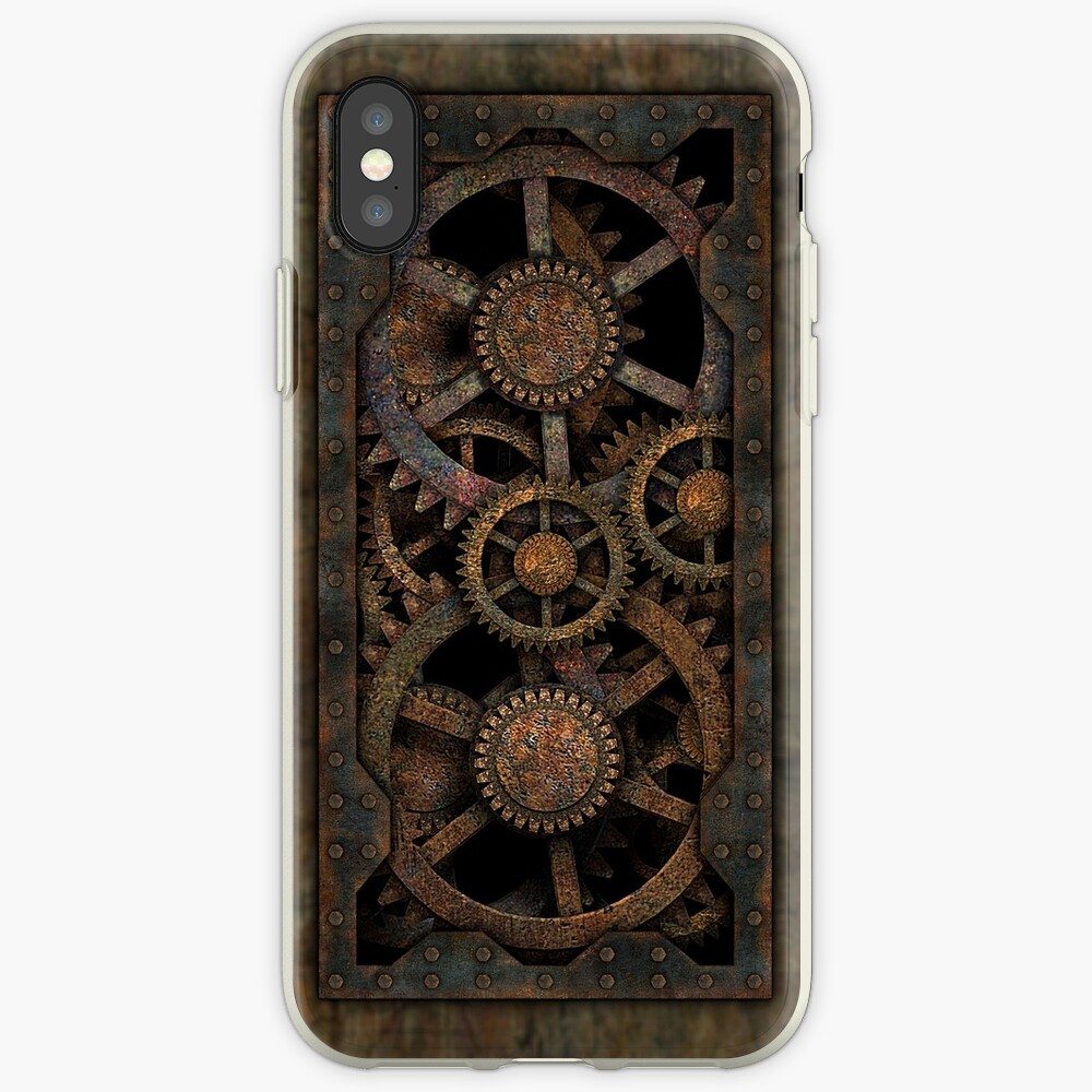 Infernal Steampunk Gears Vintage Steampunk phone cases iPhone Case & Cover