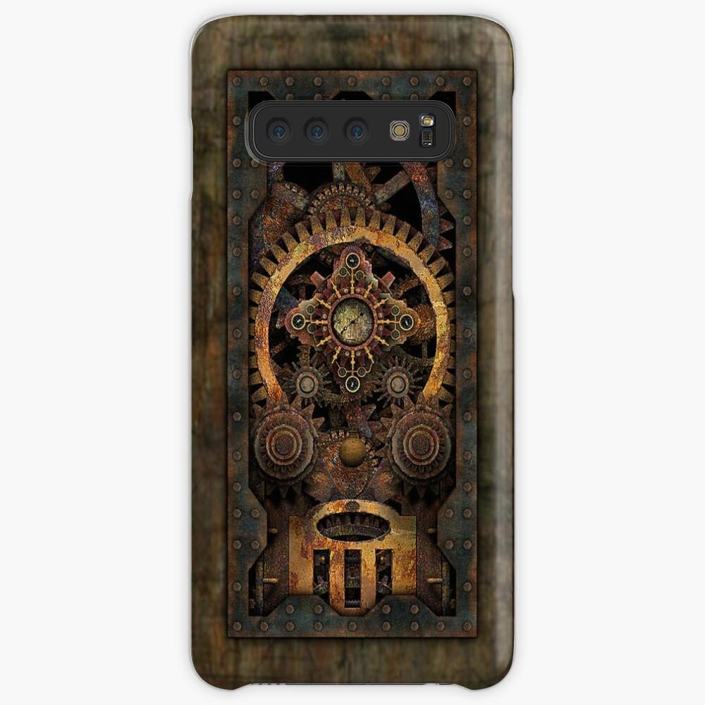 Infernal Steampunk Machine #2C Vintage Steampunk phone cases Case & Skin for Samsung Galaxy