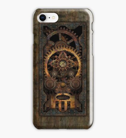 Infernal Steampunk Machine #2C Vintage Steampunk phone cases iPhone Case/Skin