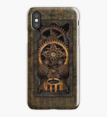 Infernal Steampunk Machine #2C Vintage Steampunk phone cases iPhone Case