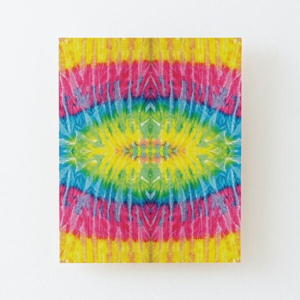 Colorful  Wood Mounted Print