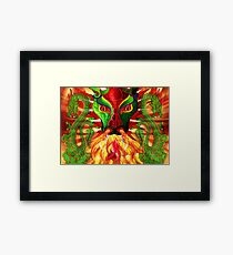 DRAGON FIRE Framed Print