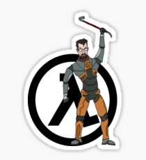Gordon Freeman Sticker