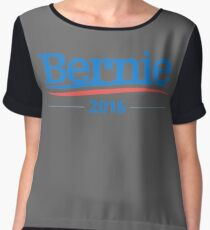Bernie Sanders 2016 Campaign Logo Women's Chiffon Top