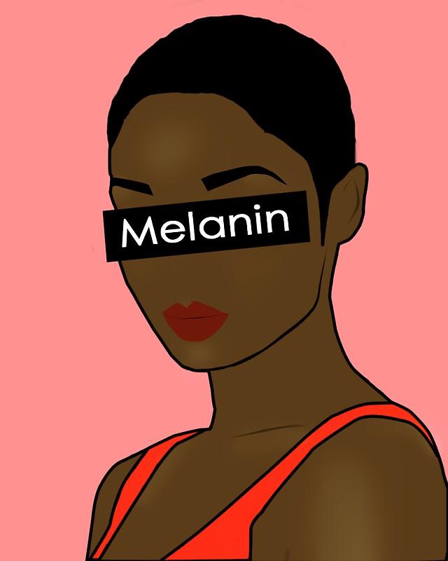 """Melanin Poppin'"" Stickers By Jessycarenee"