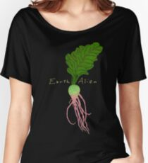 Earth Alien Watermelon Radish Women's Relaxed Fit T-Shirt