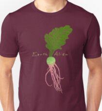Earth Alien Watermelon Radish Slim Fit T-Shirt