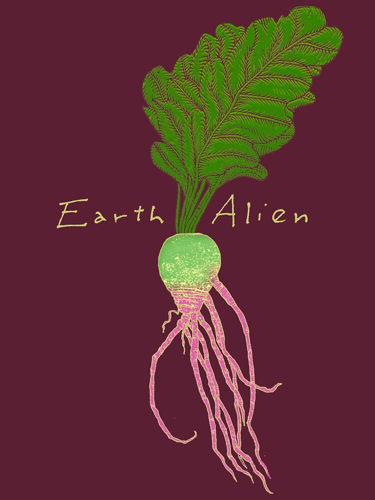 TShirtGifter presents: Earth Alien Watermelon Radish | Unisex T-Shirt