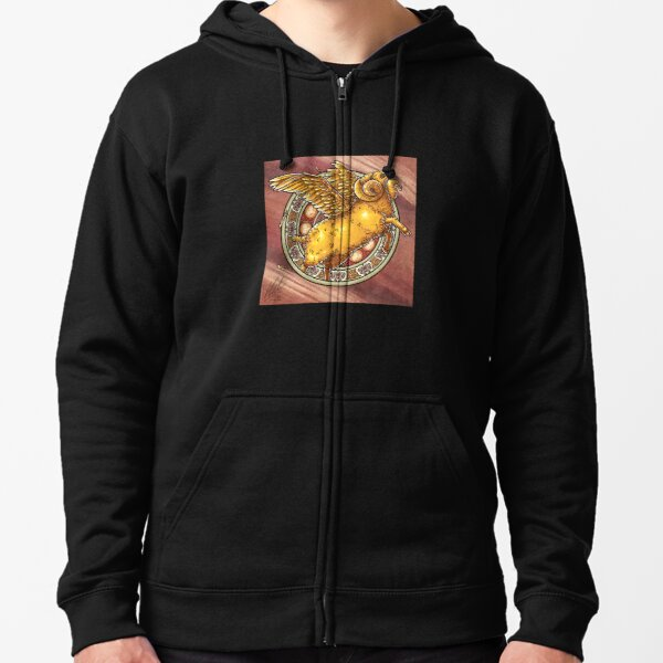Aries the Ram Zipped Hoodie