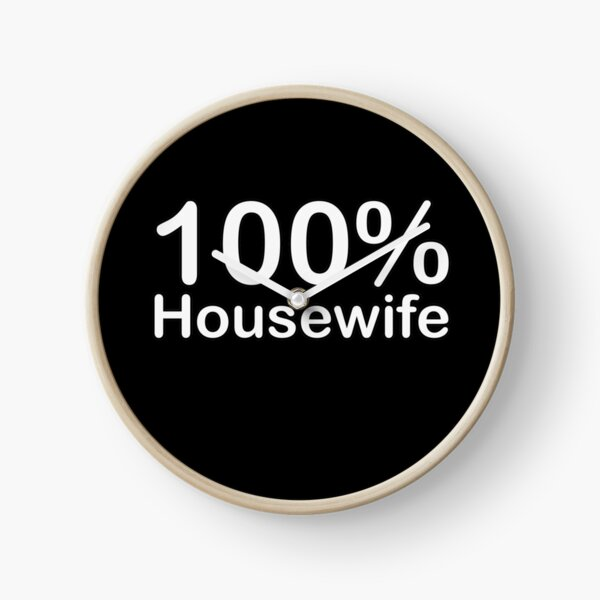 Housewife, Unique and ingenious fun gifts, Special for you! Clock