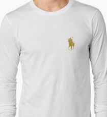 yellow grim reaper polo Long Sleeve T-Shirt