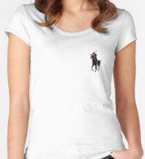 samurai polo Women's Fitted Scoop T-Shirt