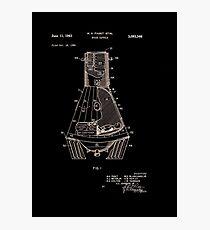 Space Capsule Patent 1963 Photographic Print