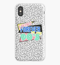 Living Forever In The 90's iPhone Case/Skin
