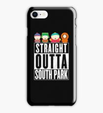 Straight outta South Park iPhone Case/Skin