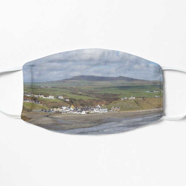 Aberdaron by the Sea Flat Mask