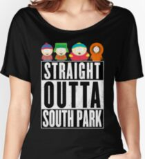 Straight outta South Park Women's Relaxed Fit T-Shirt