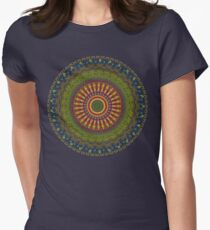Bright Blessings Mandala  Women's Fitted T-Shirt