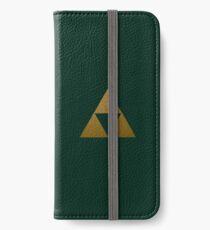 Vinilo o funda para iPhone Legend of Zelda Gold Triforce