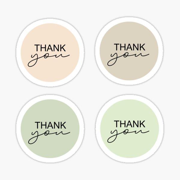 Thank you Sticker Sticker