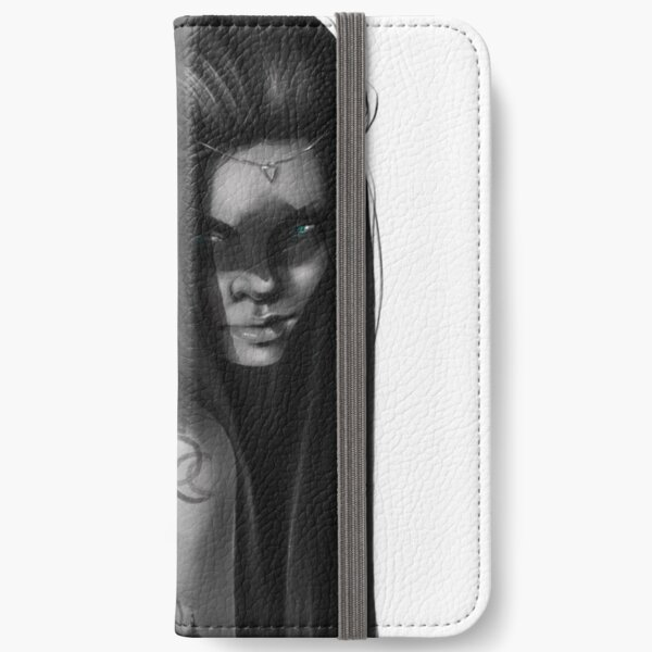 Feather plain iPhone Wallet