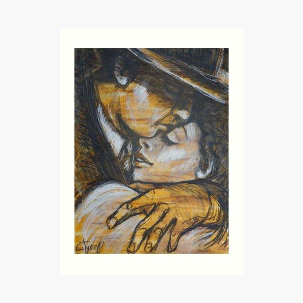Lovers - Casablanca Art Print