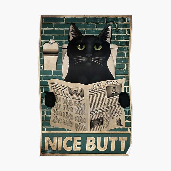 Paper Cat Magazine News  Poster