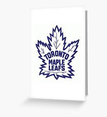 Toronto maple leafs greeting cards redbubble toronto maple leafs logo greeting card bookmarktalkfo Images