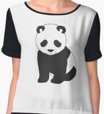 Tiny Panda Women's Chiffon Top