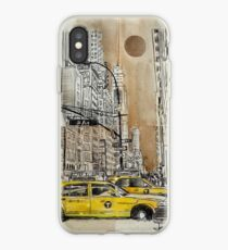 5th avenue study drawing iPhone Case