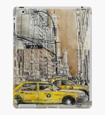 5th avenue study drawing iPad Case/Skin
