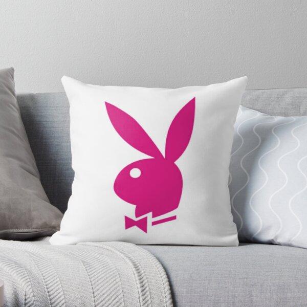 Bunny pink Throw Pillow