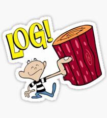 Log! Sticker
