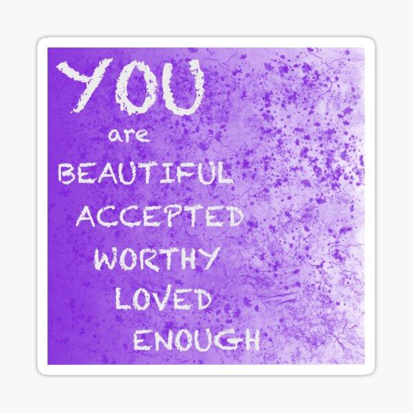 You Are Sticker